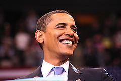 Obama half profile